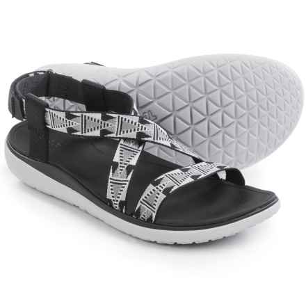 Teva Terra-Float Livia Sport Sandals (For Women) in Black - Closeouts
