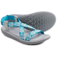 Teva Terra-Float Livia Sport Sandals (For Women) in Grey Blue - Closeouts