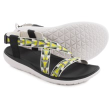 Teva Terra-Float Livia Sport Sandals (For Women) in Lime/White - Closeouts
