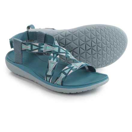Teva Terra-Float Livia Sport Sandals (For Women) in Mosaic Vintage Blue - Closeouts