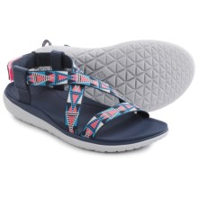 Teva Terra-Float Livia Sport Sandals (For Women) in Pink/Blue - Closeouts