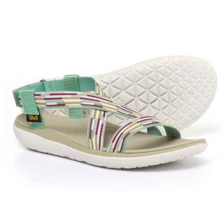 Teva Terra-Float Livia Sport Sandals (For Women) in Tacion Aqua - Closeouts