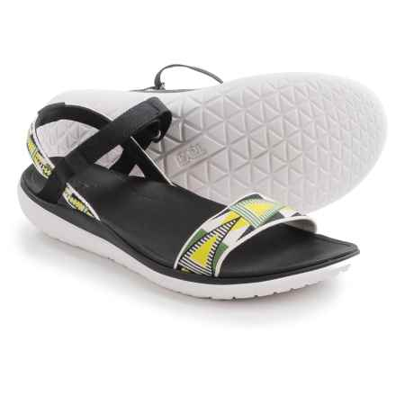 Teva Terra-Float Nova Sport Sandals (For Women) in Lime/White - Closeouts