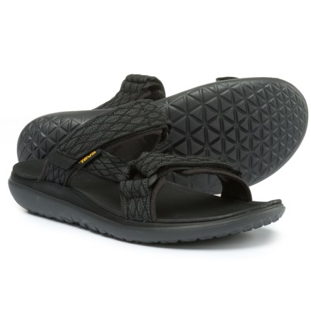 4ae3710eb93ee6 Teva Terra-Float Slide Sandals (For Men) in Black - Closeouts