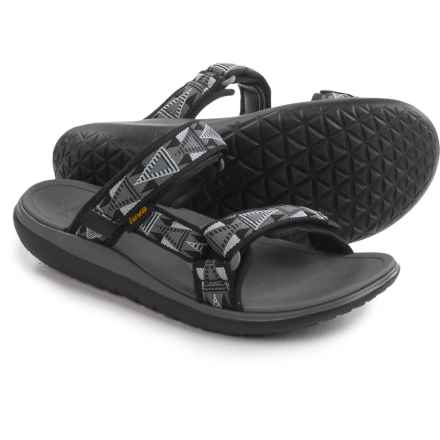 Teva Terra-Float Slide Sandals (For Men) in Mosaic Black/Dusk - Closeouts