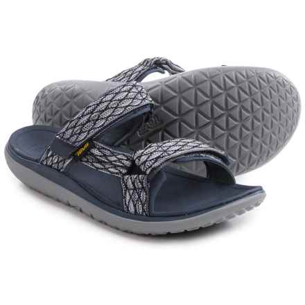 Teva Terra-Float Slide Sandals (For Men) in Navy - Closeouts