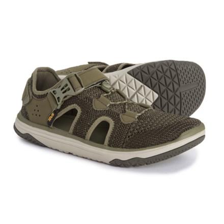 e5a003debd20 Teva Terra-Float Travel Knit Water Shoe (For Men) in Dark Olive -