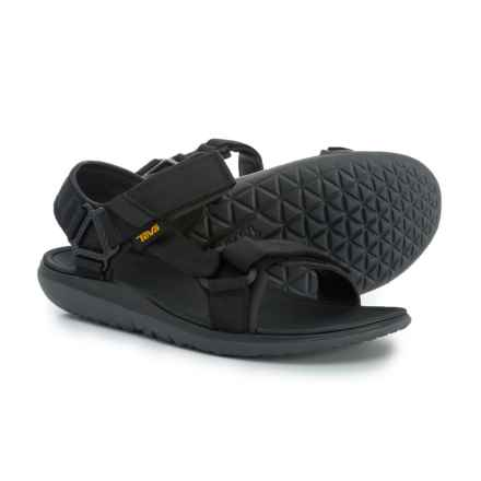 Teva Terra-Float Universal 2.0 Sport Sandals (For Men) in Black Solid - Closeouts