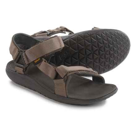 Teva Terra-Float Universal 2.0 Sport Sandals (For Men) in Walnut Solid - Closeouts