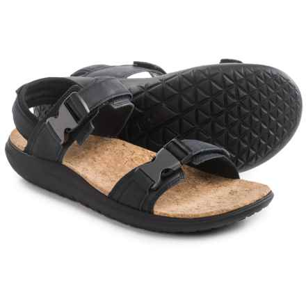 Teva Terra-Float Universal Lux Sandals (For Men) in Black - Closeouts