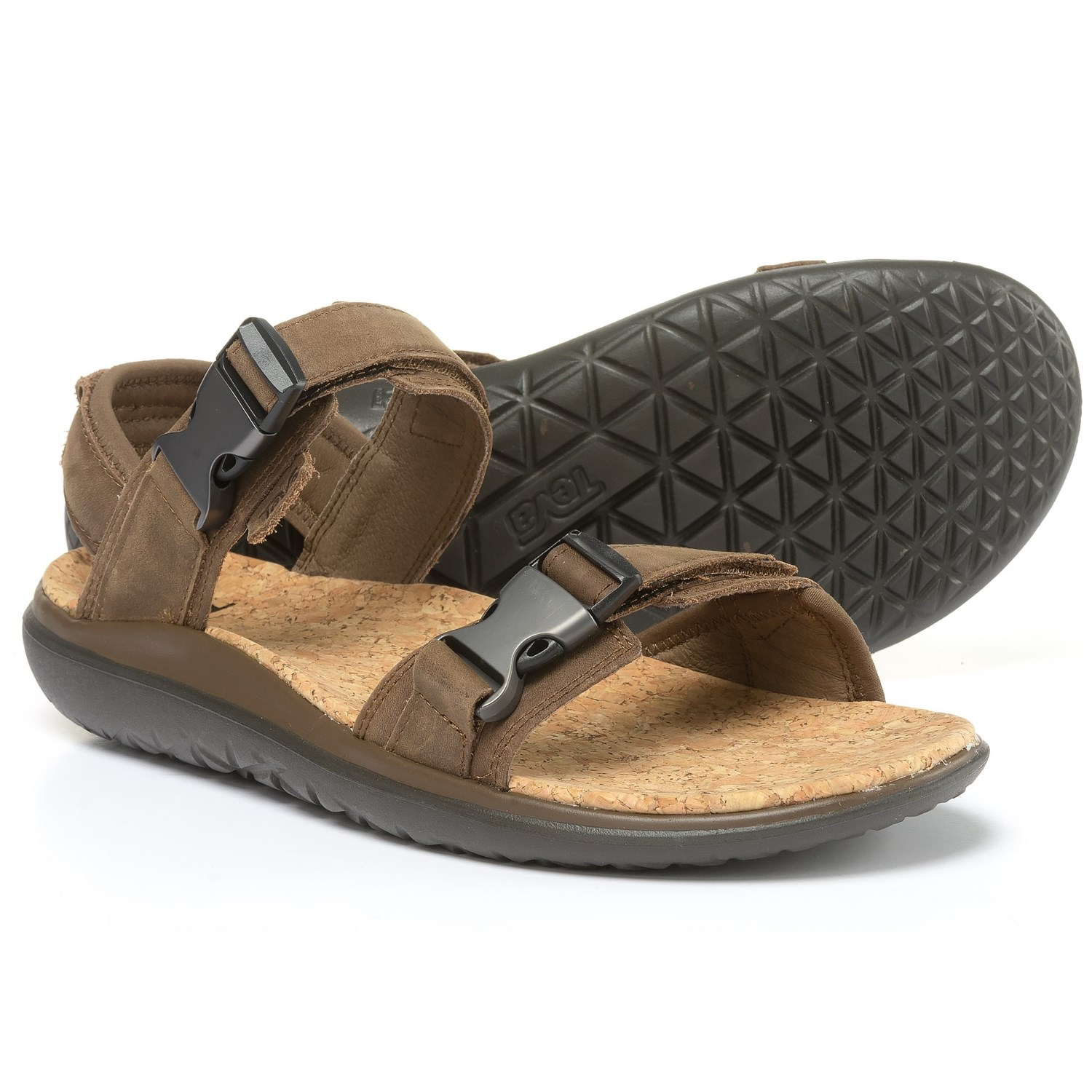 Teva Terra-Float Universal Lux Sport Sandals (For Men) in Brown - Closeouts
