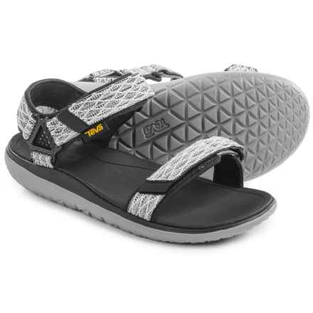 Teva Terra-Float Universal Sandals (For Men) in Charcoal Black - Closeouts