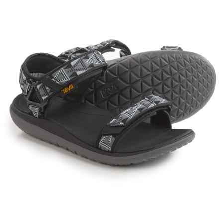 Teva Terra-Float Universal Sandals (For Men) in Mosaic Black/Dusk - Closeouts
