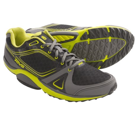 Teva TevaSphere Speed Trail Running Shoes (For Men) in Grey