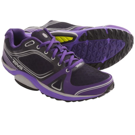 Teva Tevasphere Speed Trail Running Shoes (For Women) in Dark Purple