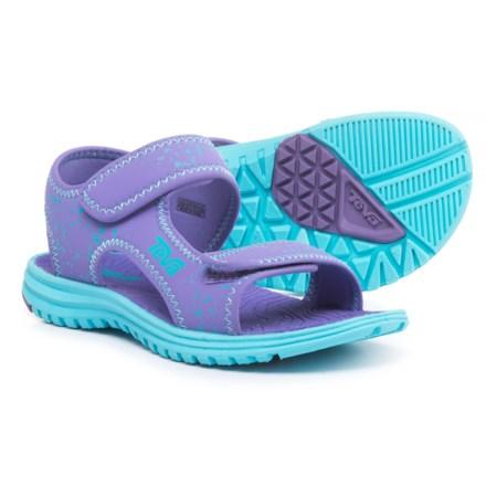 884cd3bbc53f Teva Tidepool Sport Sandals (For Girls) in Purple Scuba Splatter - Closeouts