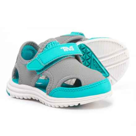 Teva Tidepool Sport Sandals (For Infant and Toddler Boys) in Grey/Blue - Closeouts