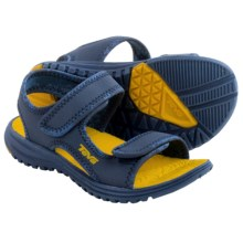 Teva Tidepool Sport Sandals (For Toddlers) in Navy/Yellow - Closeouts