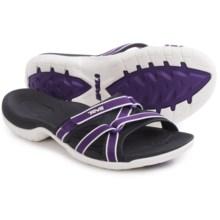 Teva Tirra Slide Sandals (For Women) in Deep Purple - Closeouts