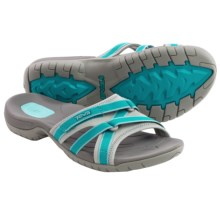 Teva Tirra Slide Sandals (For Women) in Lake Blue - Closeouts