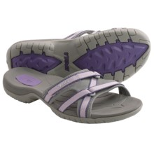 Teva Tirra Slide Sandals (For Women) in Sea Fog - Closeouts