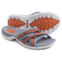 Teva Tirra Slide Sandals (For Women) in Terra Cotta - Closeouts