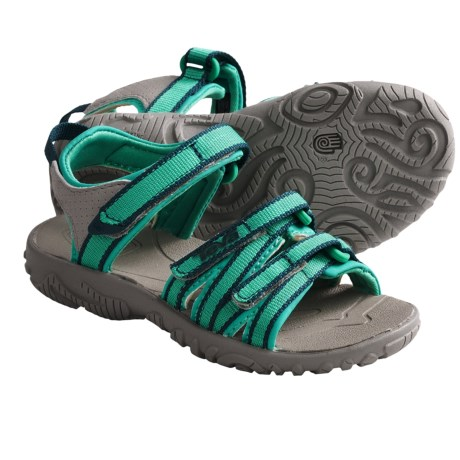 Teva Tirra Sport Sandals (For Girls) in Neon Green