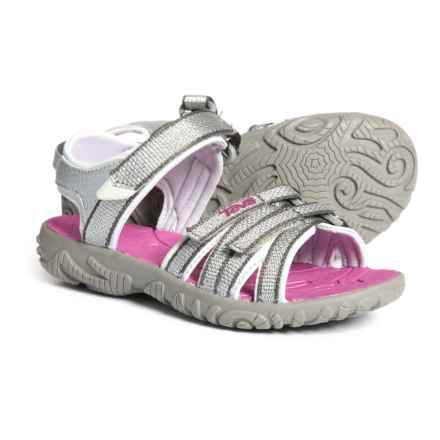 Teva Tirra Sport Sandals (For Girls) in Silver/Magenta - Closeouts