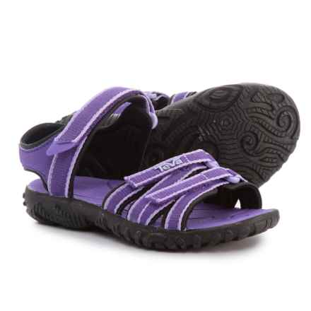 Teva Tirra Sport Sandals (For Infant and Toddler Girls) in Purple - Closeouts