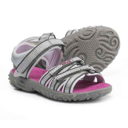 Teva Tirra Sport Sandals (For Infant and Toddler Girls) in Silver/Magenta - Closeouts