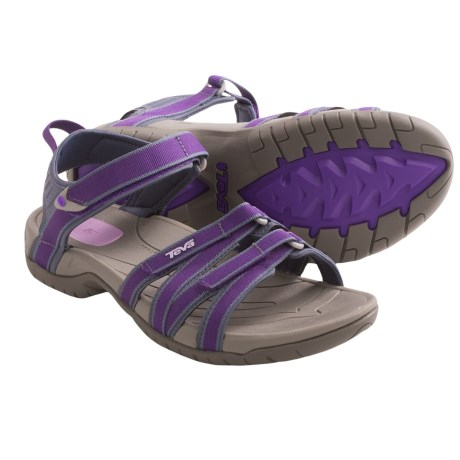Teva Tirra Sport Sandals (For Women) in Dark Purple