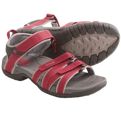 Teva Tirra Sport Sandals (For Women) in Red