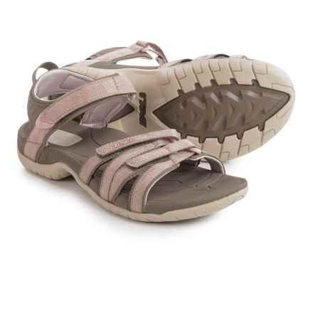 Teva Tirra Sport Sandals (For Women) in Rose Gold - Closeouts