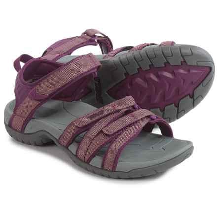 Teva Tirra Sport Sandals (For Women) in Zaca Dark Purple Gold - Closeouts