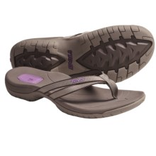 Teva Tirra Thong Sandals (For Women) in Chocolate Chip - Closeouts
