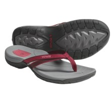 Teva Tirra Thong Sandals (For Women) in Red - Closeouts