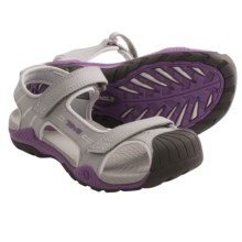 Teva Toachi 2 Sandals (For Kids and Youth) in Grey/Purple - Closeouts