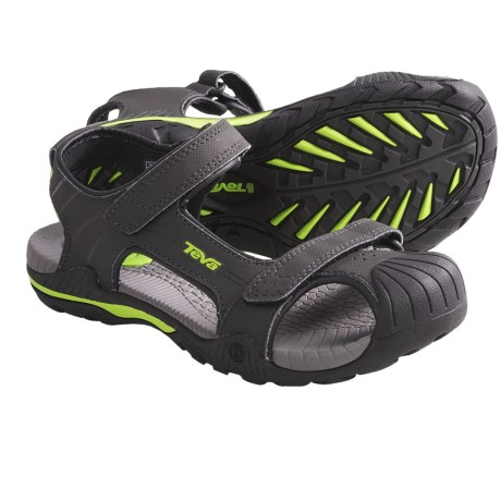 Teva Toachi 2 Sandals (For Kids and Youth) in Stone Grey