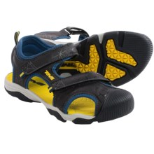 Teva Toachi 3 Sport Sandals (For Big Kids) in Navy/Yellow - Closeouts