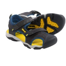 Teva Toachi 3 Sport Sandals (For Toddlers) in Navy/Yellow - Closeouts