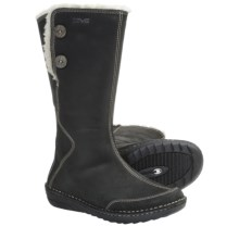Teva Tonalea Boots - Leather (For Women) in Black - Closeouts