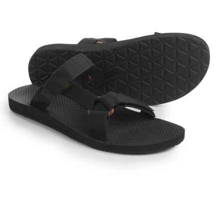 Teva Universal Slide Sandals (For Men) in Black - Closeouts
