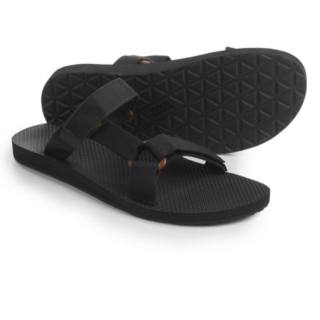Teva Universal Slide Sandals (For Men) in Black