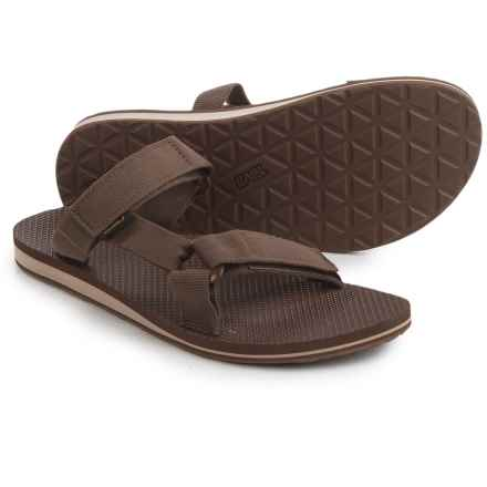 Teva Universal Slide Sandals (For Men) in Dark Earth - Closeouts