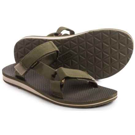 Teva Universal Slide Sandals (For Men) in Dark Olive - Closeouts