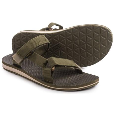 Teva Universal Slide Sandals (For Men) in Dark Olive