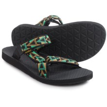 Teva Universal Slide Sandals (For Men) in Mosaic Black - Closeouts