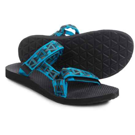 Teva Universal Slide Sandals (For Men) in Mosaic Blue - Closeouts
