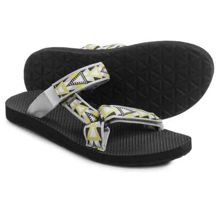 Teva Universal Slide Sandals (For Men) in Mosaic Grey - Closeouts