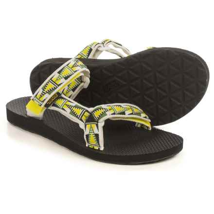 Teva Universal Slide Sandals (For Women) in Mosaic Atomic Lime - Closeouts